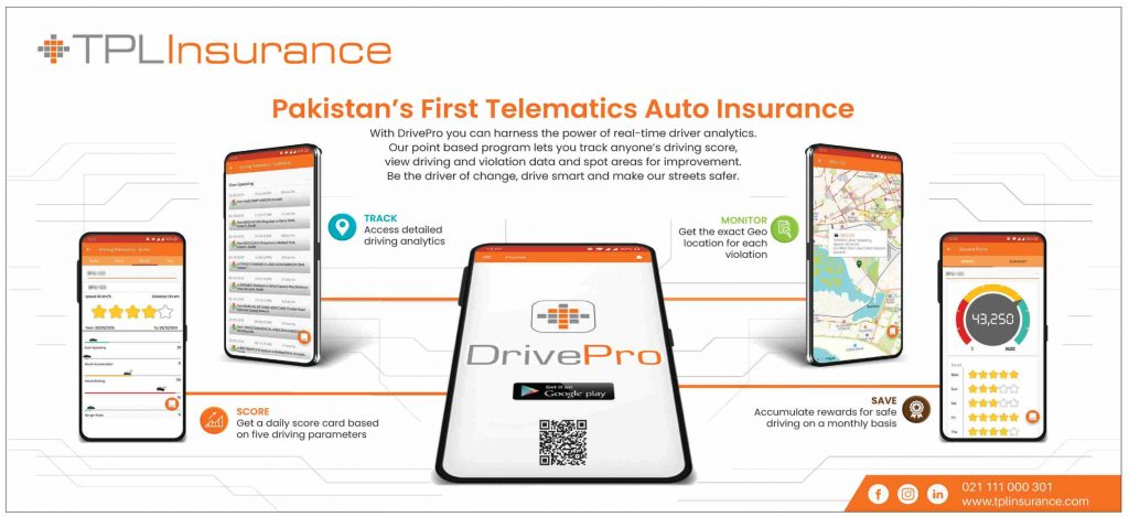 DrivePro with TPL Insurance