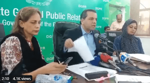 Punjab Education Minister Murad Raas Press Conference about Teachers