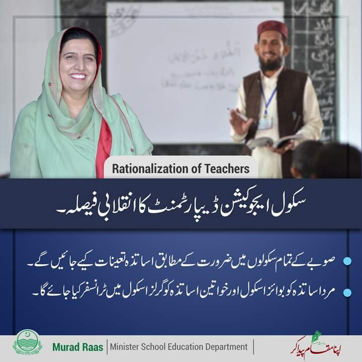 Rationalization Policy Teachers
