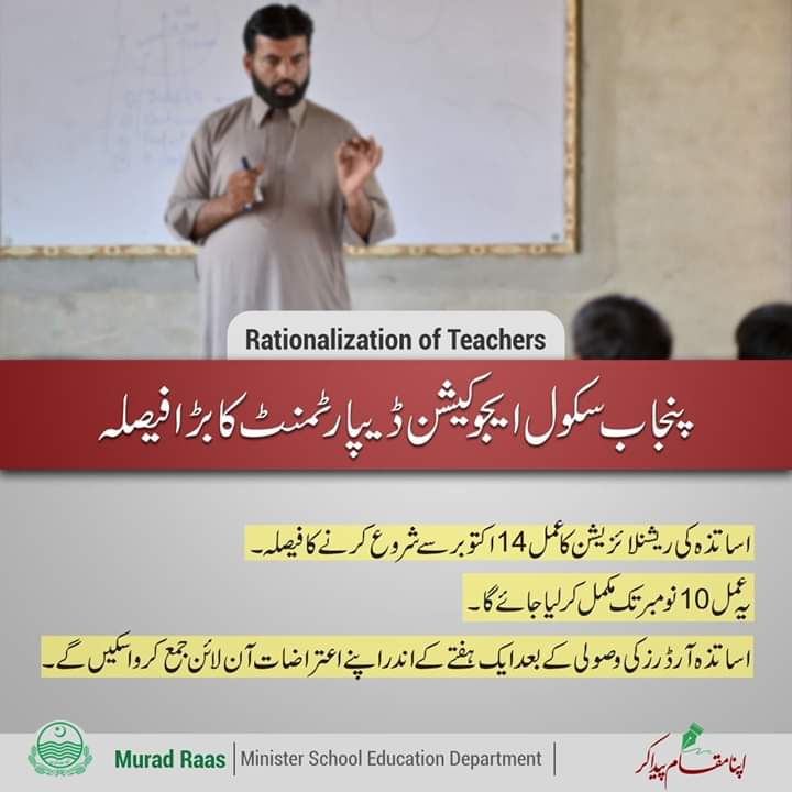 Rationalization of female teachers