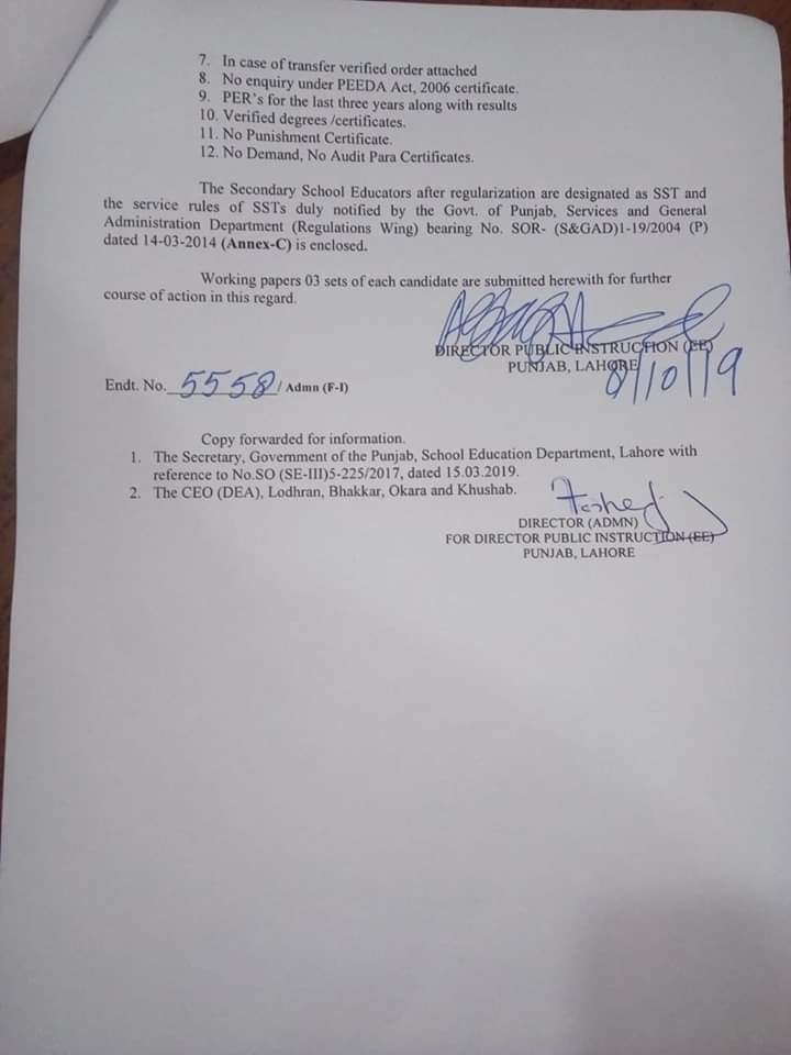 Regularization of SSE to SST (BS-16)