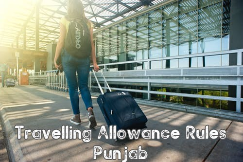 Travelling Allowance Rules Punjab