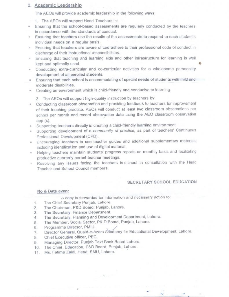 AEOs Primary Responsibilities -2
