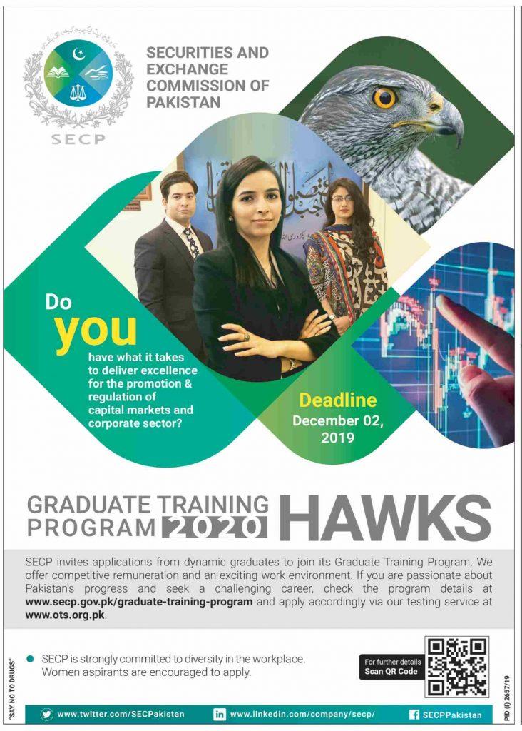 Graduate Hawks Training Program 2020 SECP