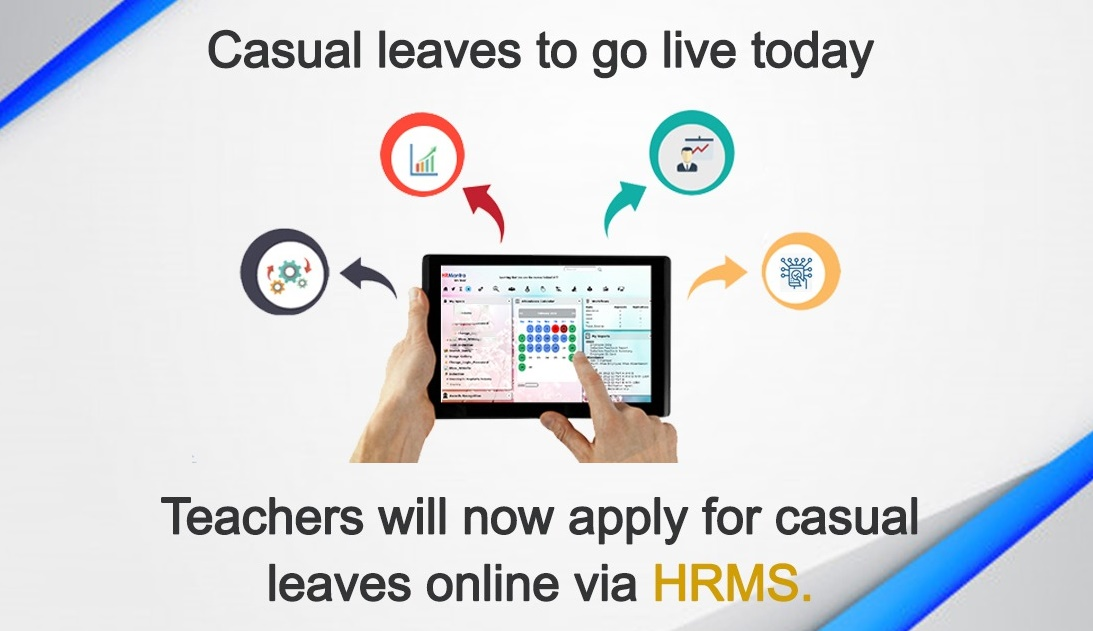 How To Avail Casual Leave Online Through Hrms Employees