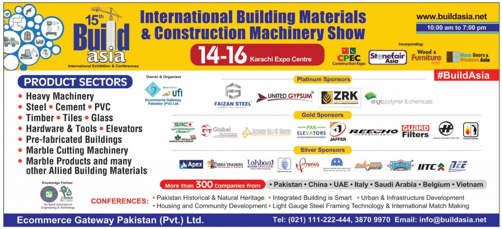 15th Build Asia International Exhibition & Conferences 2019
