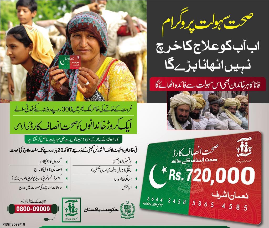 Sehat Insaf Card 2020