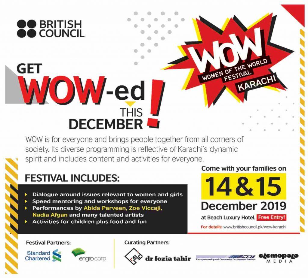 WOW Festival British Council 2020