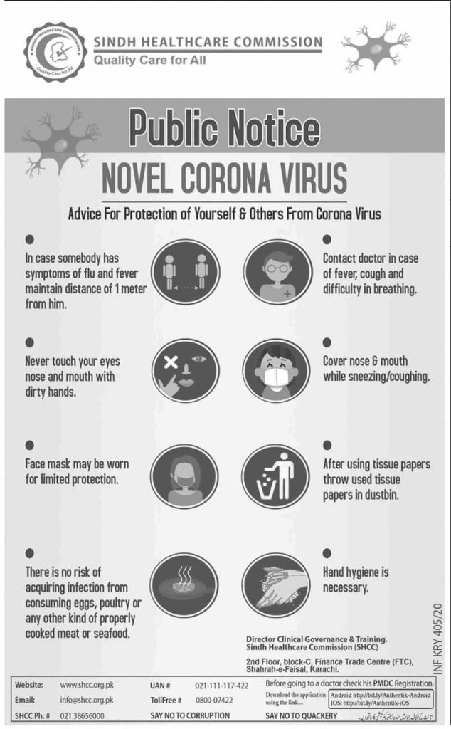 2020 Novel CoronaVirus Disease Symptoms
