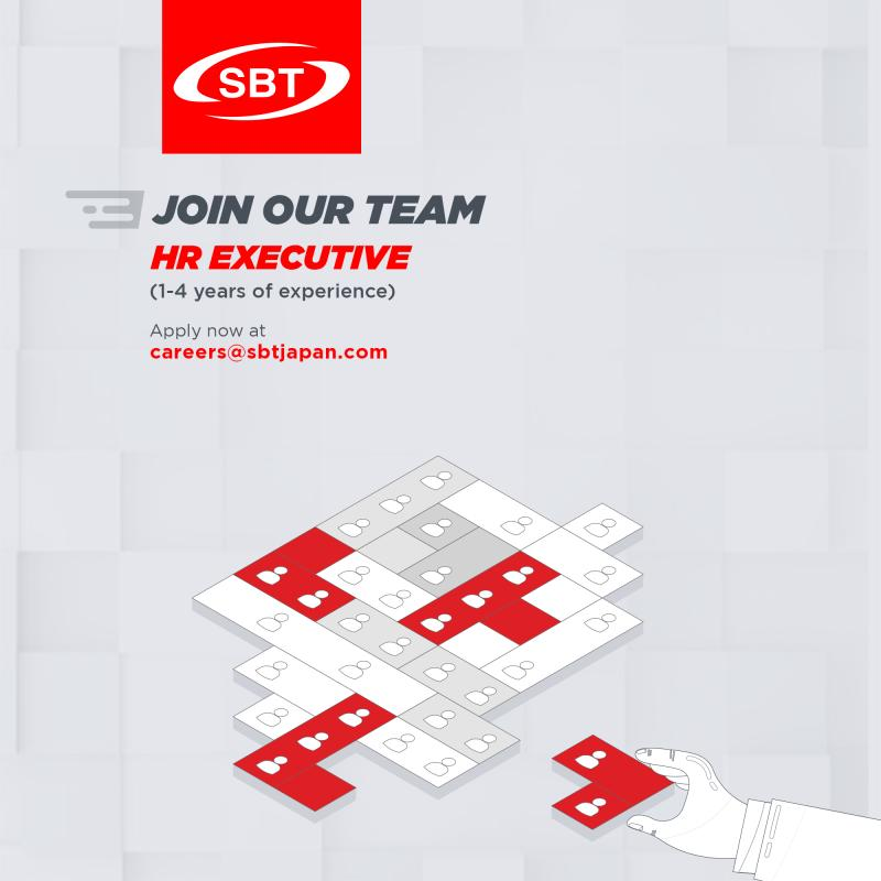 HR Executive Jobs SBT 2020