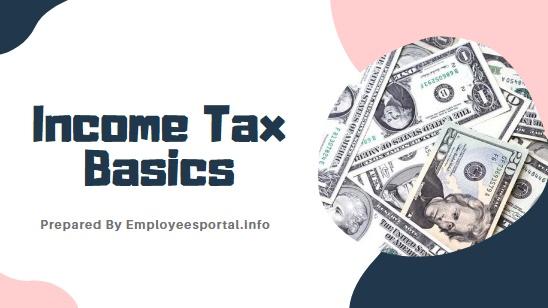 Income Tax Basics 2020
