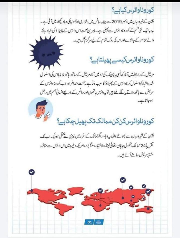 coronavirus definition in urdu