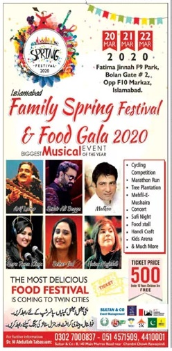 Family Spring Festival & Food Gala 2020