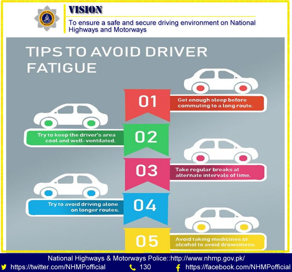Top 5 Tips To Avoid Driver Fatigue