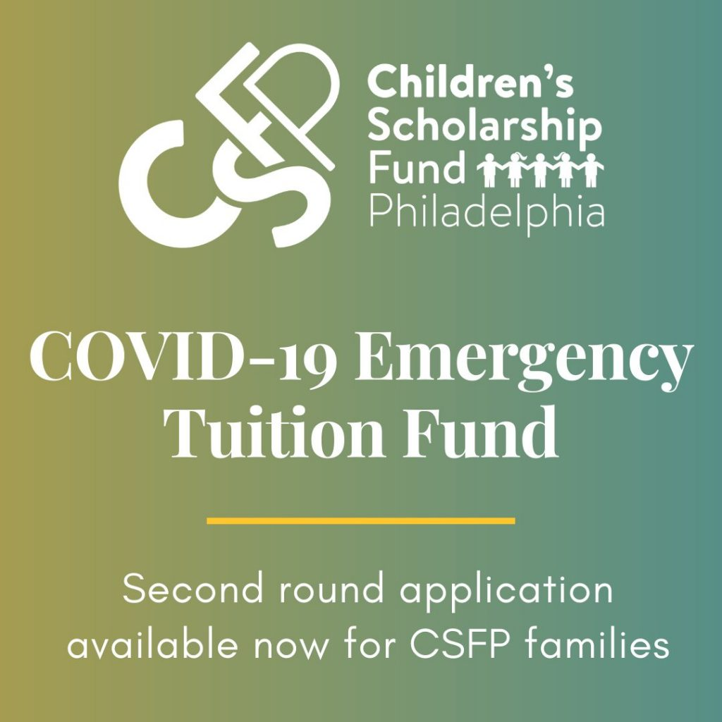COVID-19 Emergency Tuition Fund 2020 Children's Scholarship