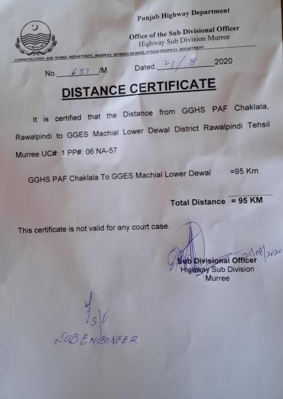 Distant Certificate Format For Teachers Transfer