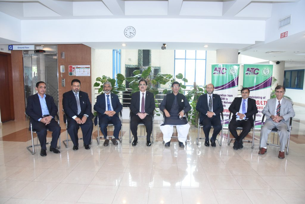 Minister For IT & Telecom Visits NTC Headquarters