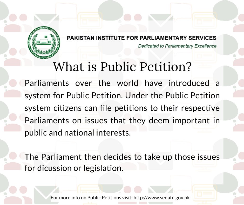 What is Public Petition
