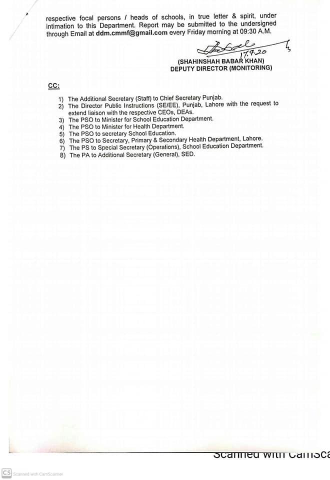 Conduct of Zero Period Regarding Anti-Dengue & Covid-19