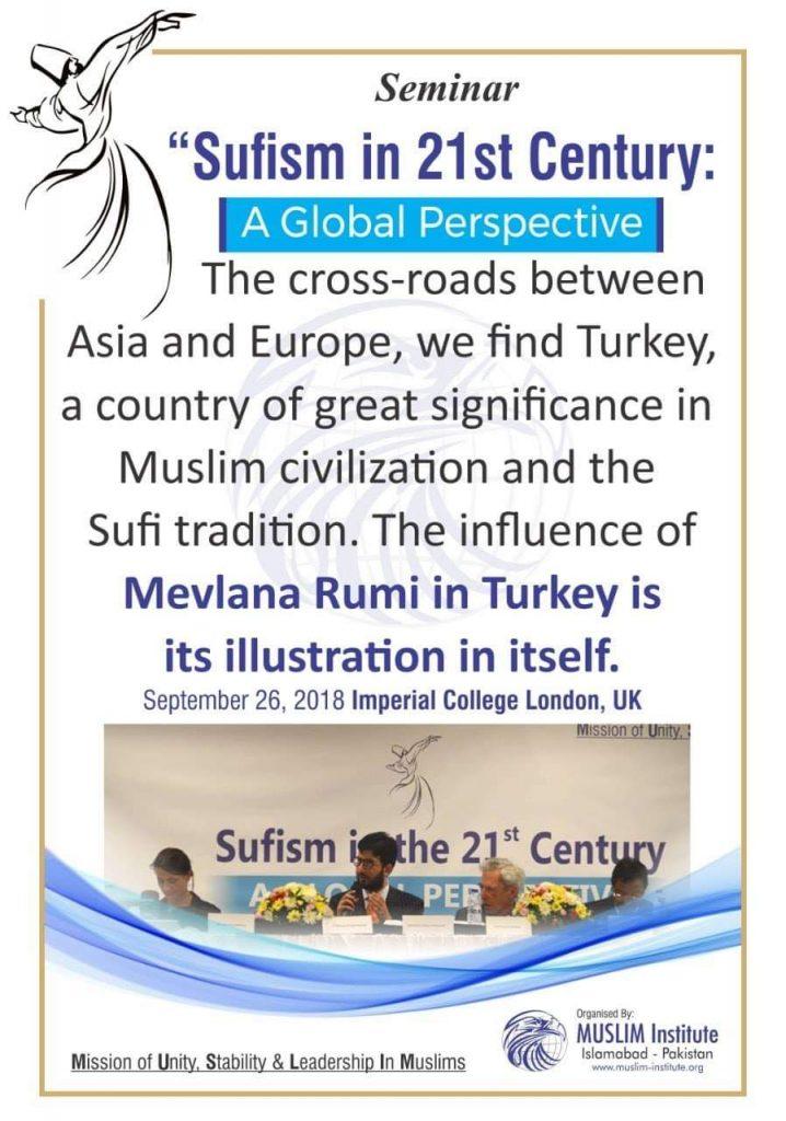 Sufism Seminar 2020 Muslim Institute