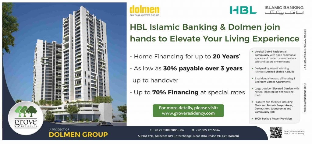 HBL Islamic Announces Best Home Finance Offer Upto 20 Years