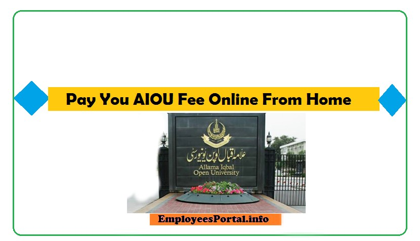 AIOU Online Fee Payment 2021