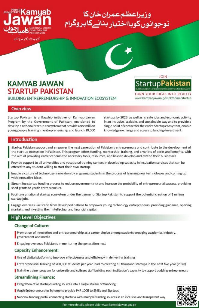 PM Kamyab Jawan Startup Pakistan Registration 2021