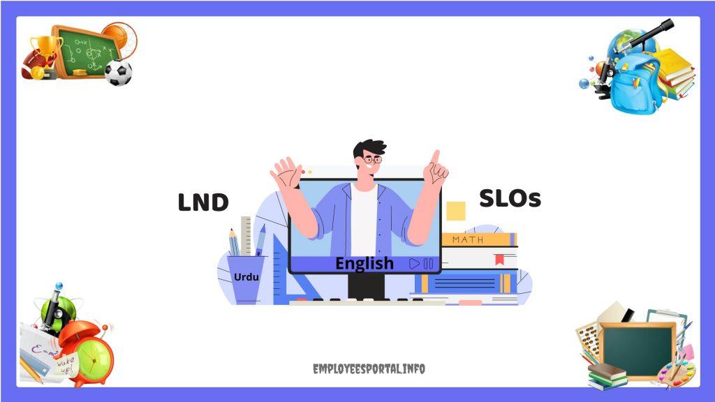 English Math Urdu New LND SLOs