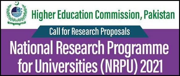 HEC NRPU 2021