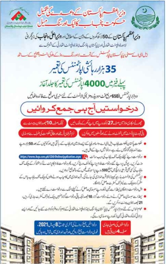 How To Apply For 35 Thousands Naya Pakistan Houses For Punjab Employees 2021