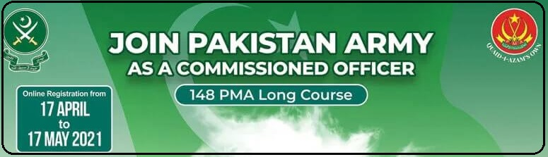 Join Pak Army As Regular Commission 2021