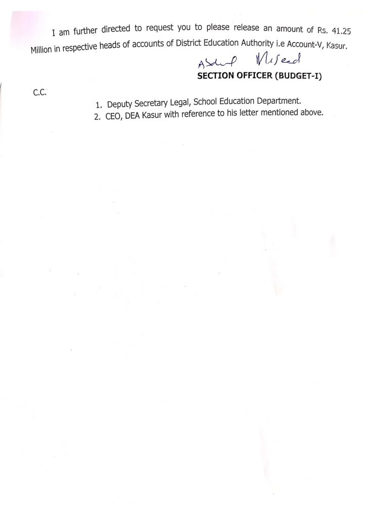 Notification of Final Report Regarding Payment of Honorarium To Staff 2021