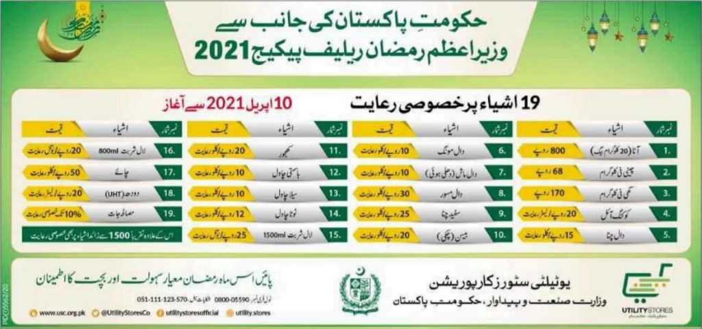 PM Ramadan Relief Package 2021