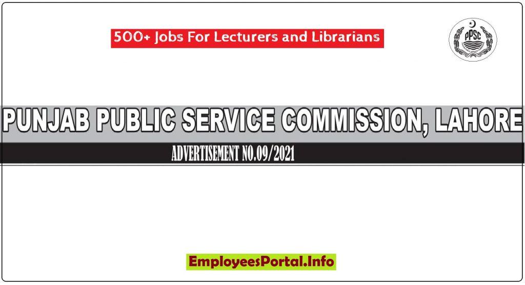 PPSC New Jobs 2021