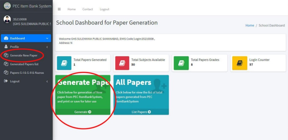 GENERATE NEW PAPERS